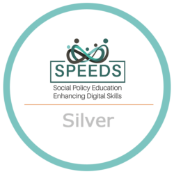 Silver digital badge - Speeds UCC