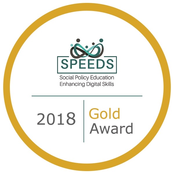 Gold digital badge - Speeds UCC